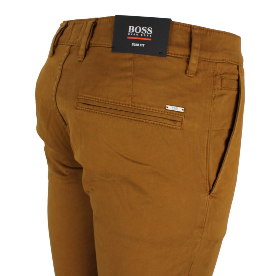 BOSS Hugo Boss Chino Hose Cognac braun Schino Slim 50379152 210