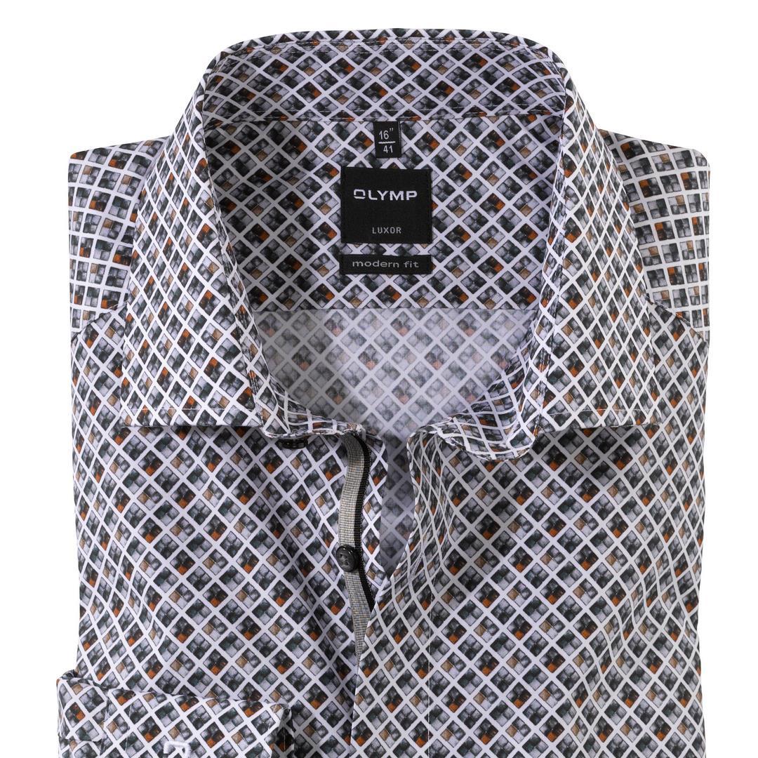 Olymp Luxor Hemd Extra langer Arm Businesshemd Anzug Modern fit 131289 24 caramel