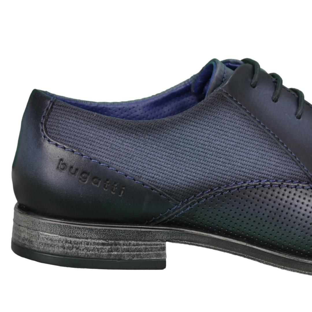 Bugatti Herren Schuhe Schnürschuhe blau 311 90903 1000 4100 dark blue