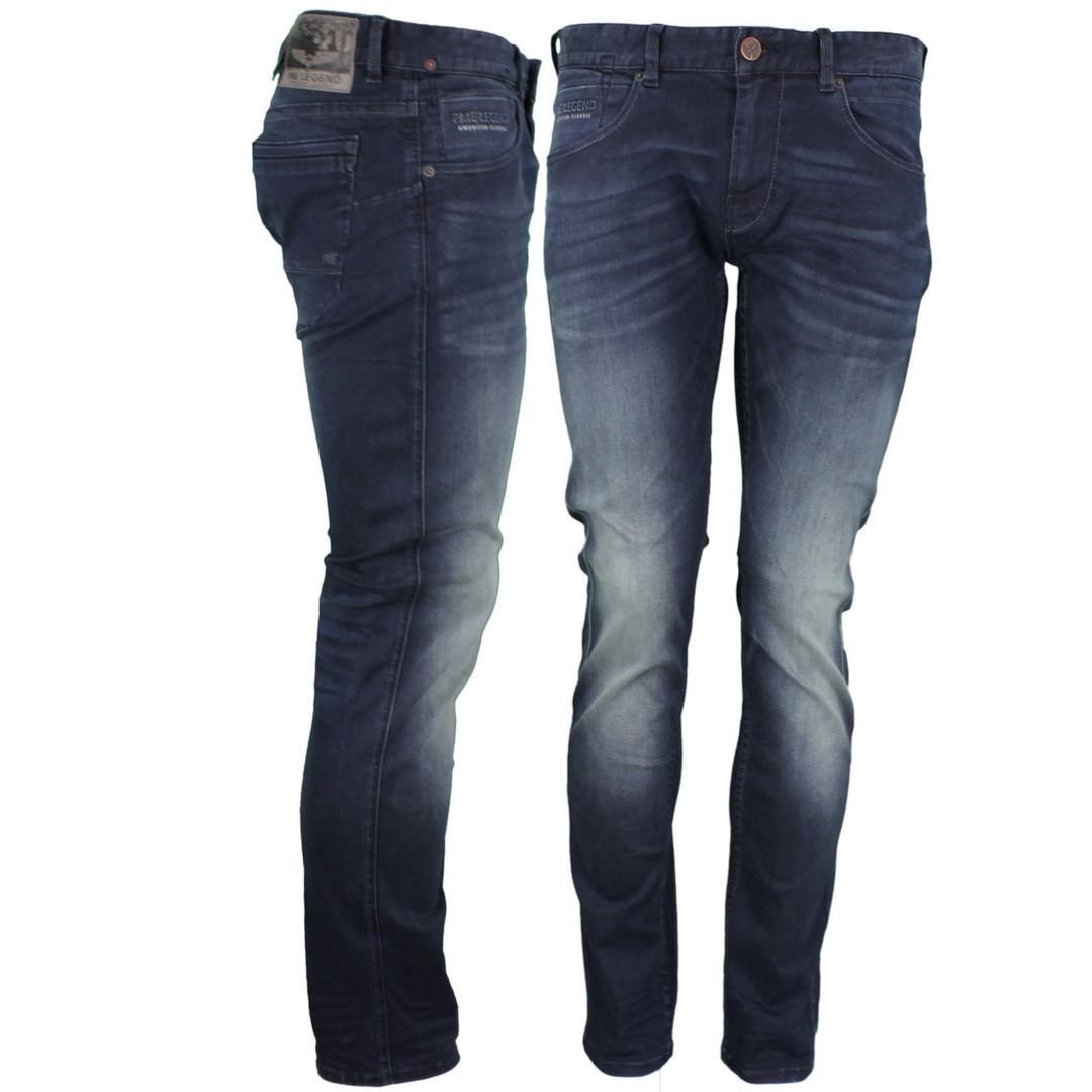 PME Legend Herren Jeans Hose Nightflight blau PTR120 LMB