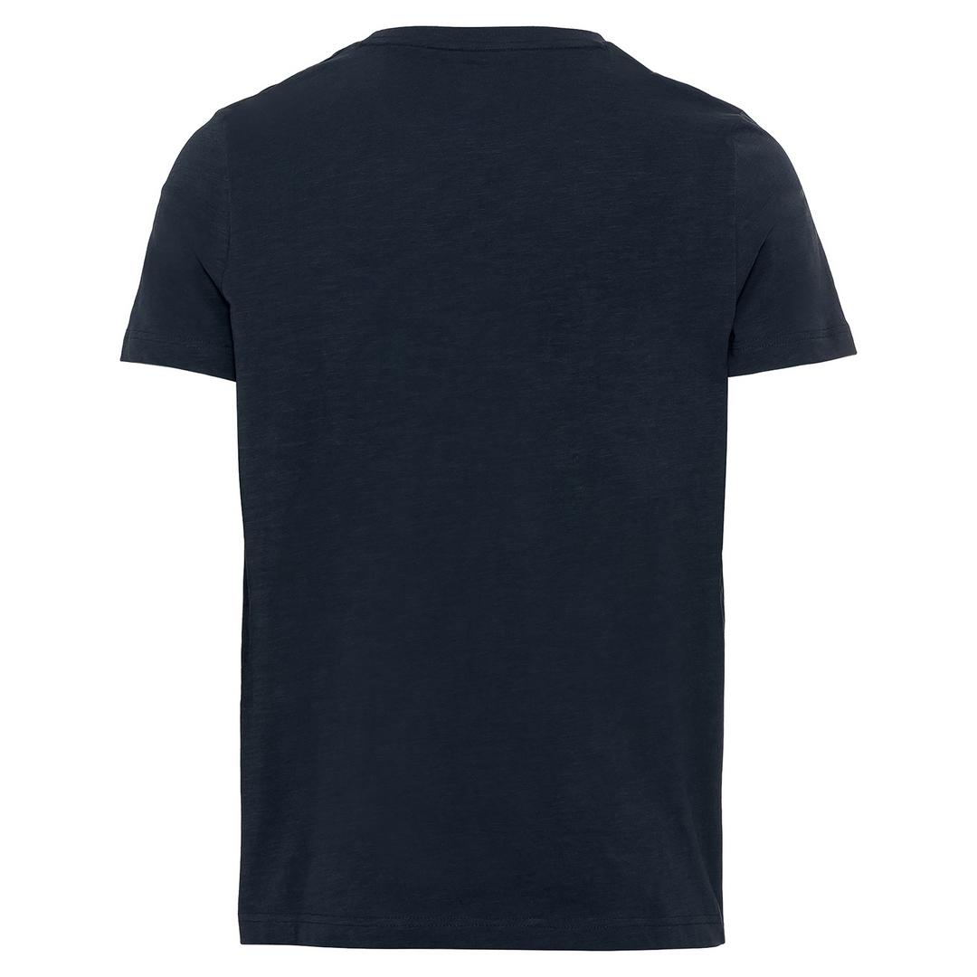 Camel active T-Shirt dunkel blau unifarben 5T24409640 49