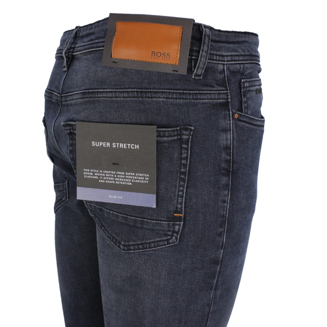 Hugo BOSS Jeans Hose Slim Fit Super Setretch dunkel blau Delaware 50437065 409