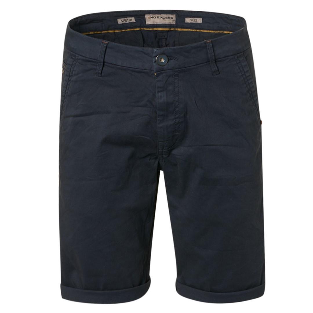 No Excess Chino Short marine blau unifarben 118190306 078