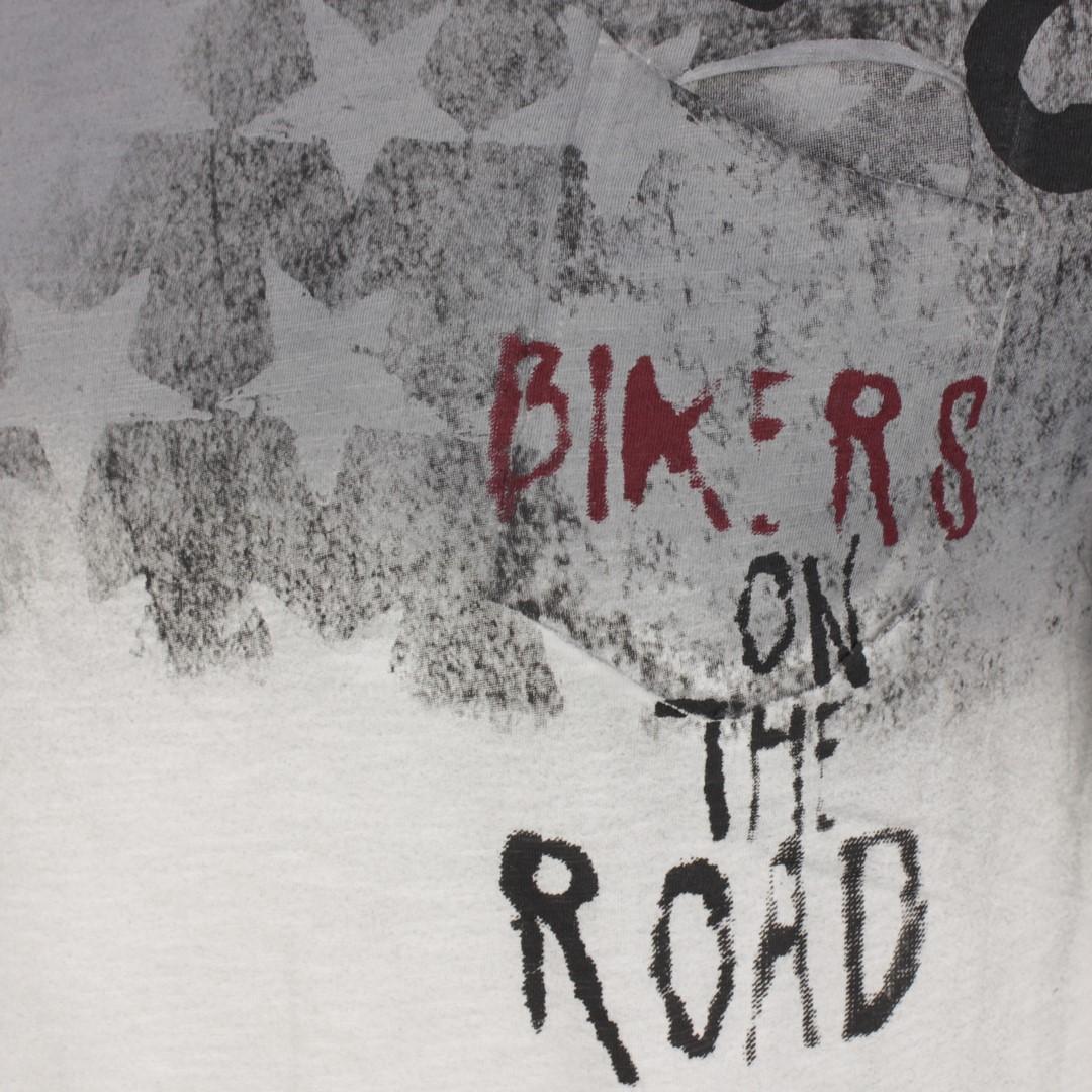 Key Largo Herren T-Shirt Druck grau MT ROAD round 1107 silver