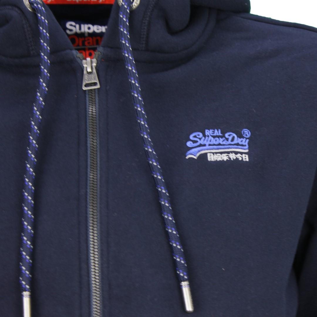 Superdry Herren Sweat Jacke OI Winter Cali blau M2000028A ADQ navy