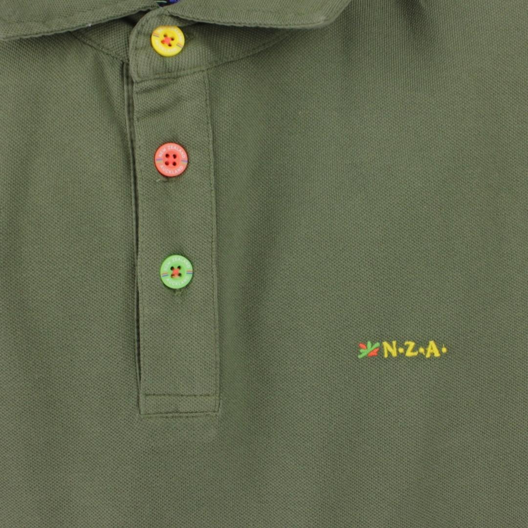 New Zealand Auckland NZA Polo Shirt Olive grün 21CN150 500