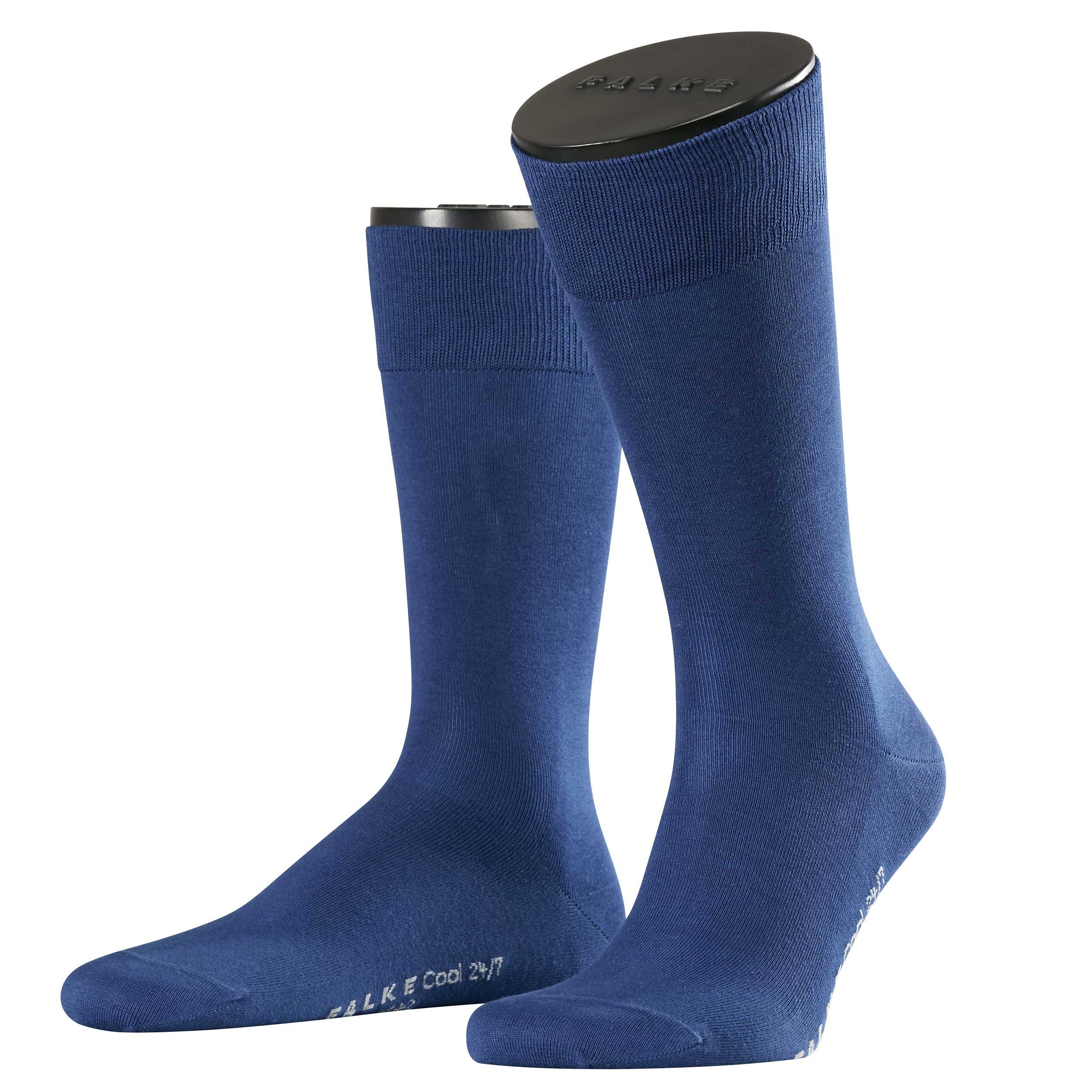 Falke Buisness Socke royal blau 13230 6000 Basic Cool 24/7 Baumwolle