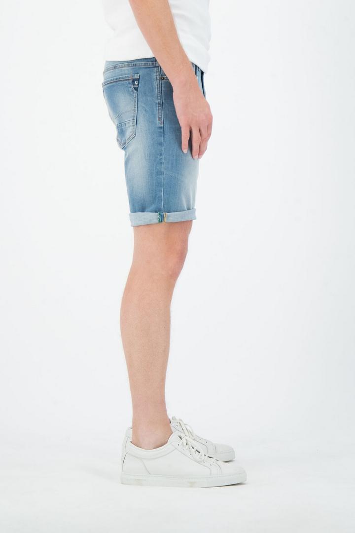 Garcia Jeans Short Russo Regular Acqua Denim Light Used 615 7158