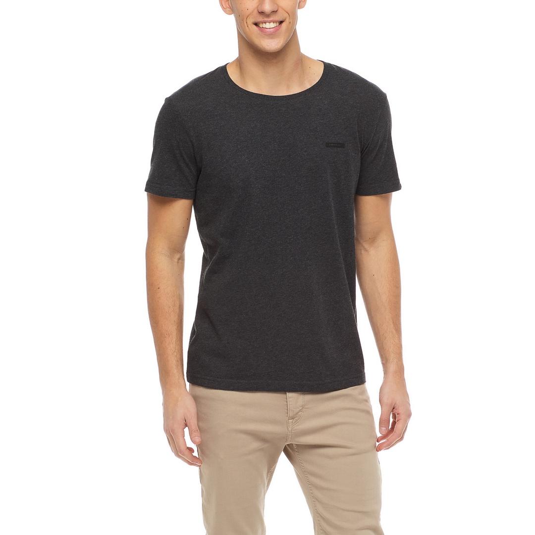 Ragwear Herren T-Shirt Shirt kurzarm Nedie vegan dunkelgrau 2122 15001 3012 Dark Grey
