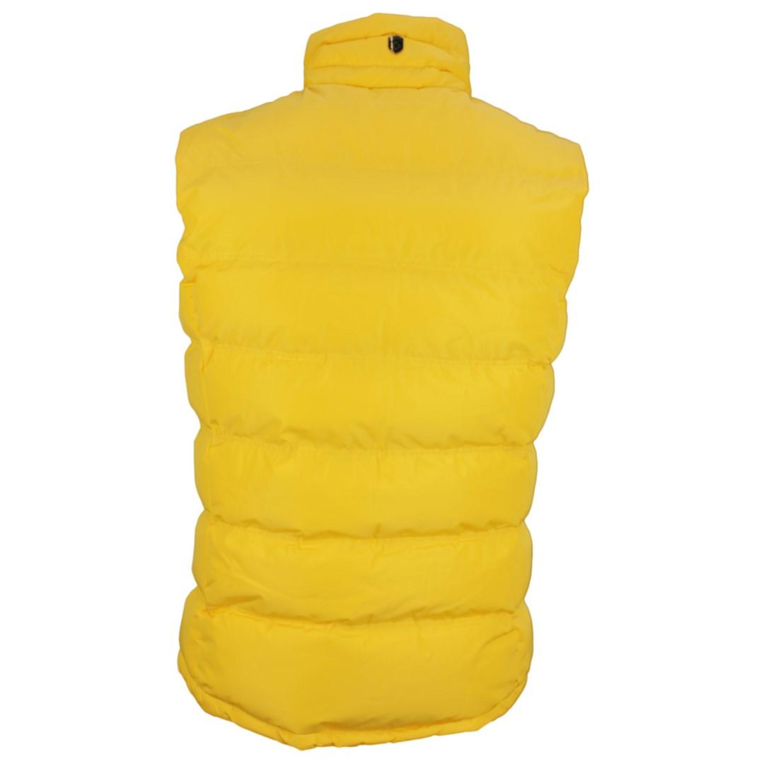 Wellensteyn Herren Weste Snowdome Vest Men gelb Unifarben SNVM 560 sun