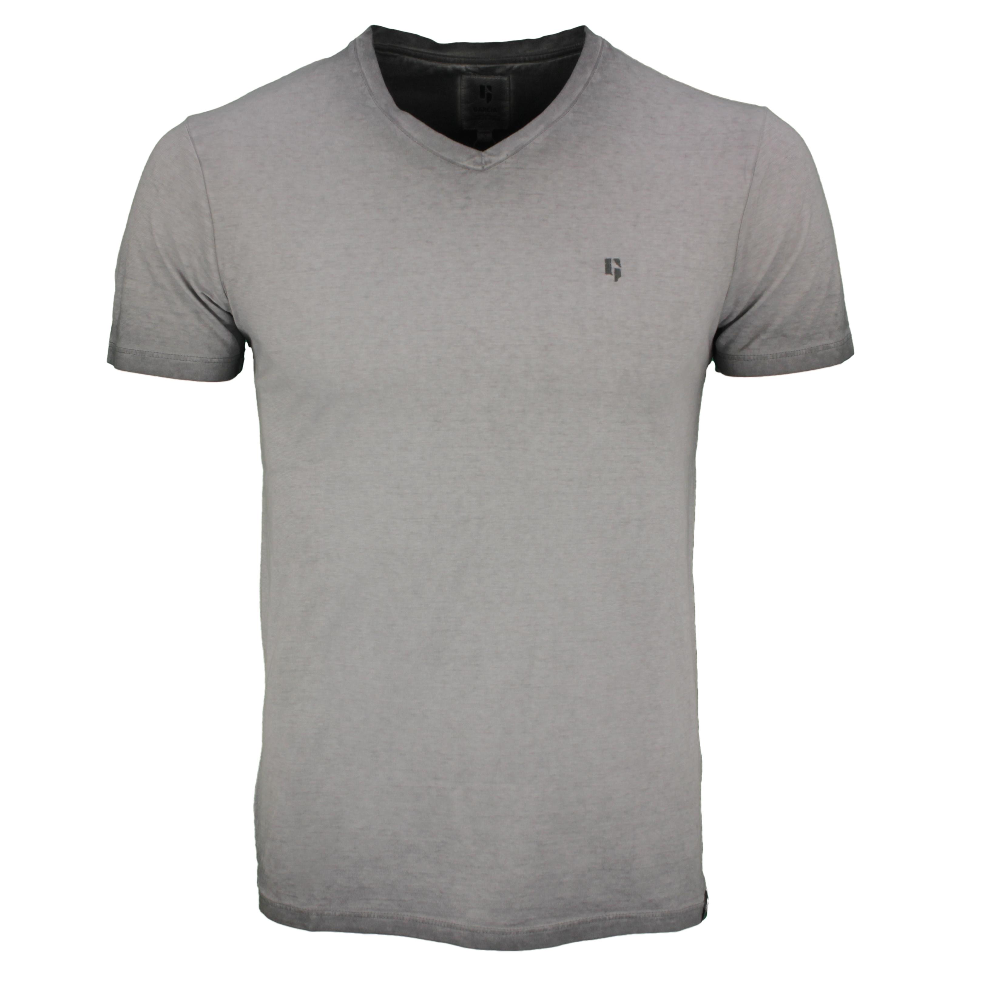 Garcia Herren T-Shirt Shirt kurzarm grau unifarben Used Look E11020 5001 iron grey