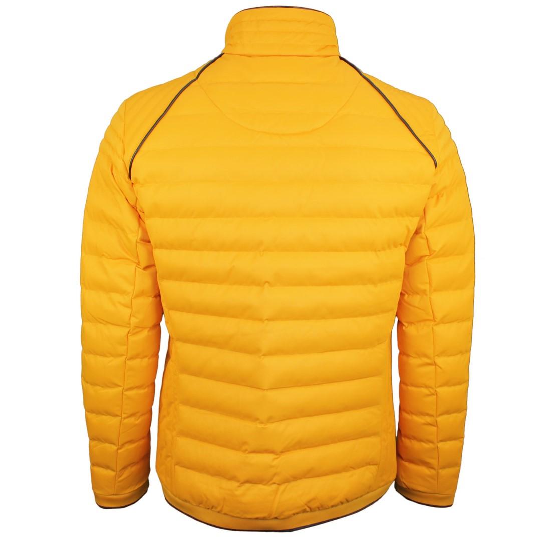 Wellensteyn Herren Stepp Jacke gelb Molecule Men MOLM 640 saffron
