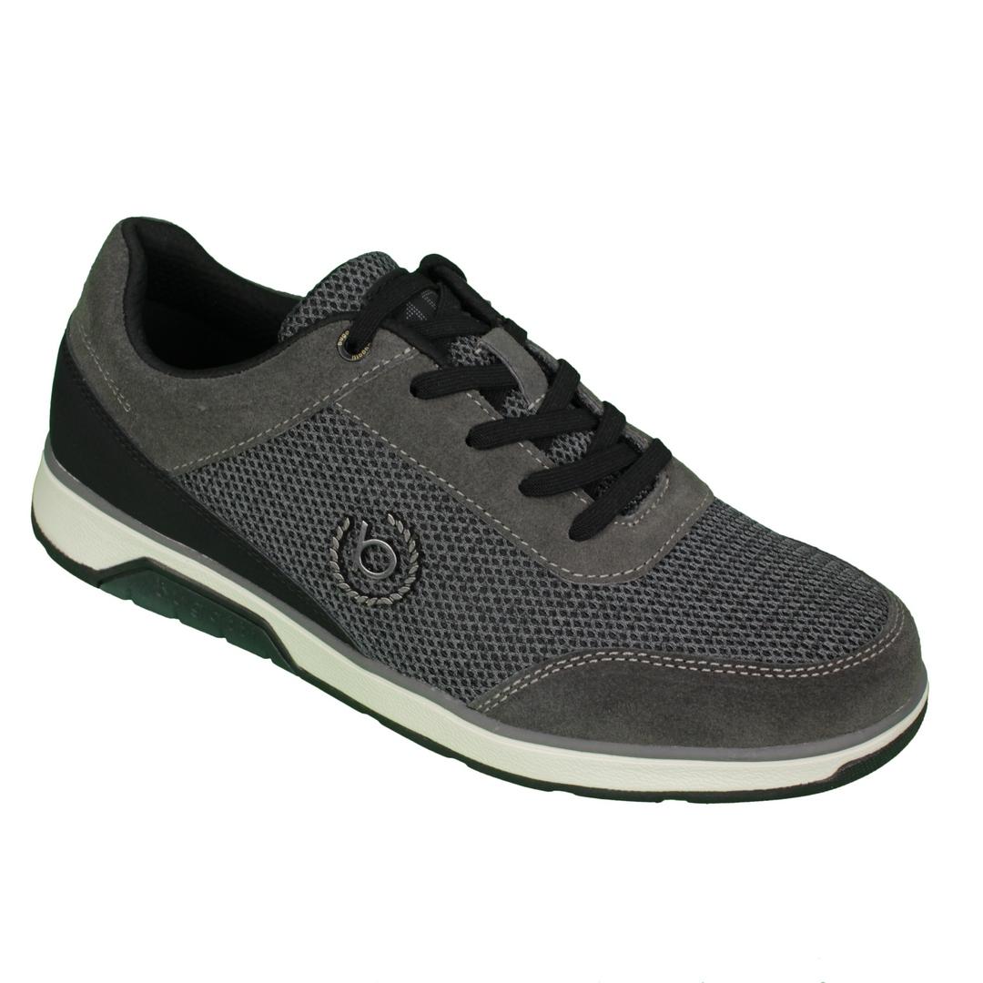 Bugatti Herren Schuhe Schnürschuhe Sneaker grau 332 A4I01 6900 1100 dark grey