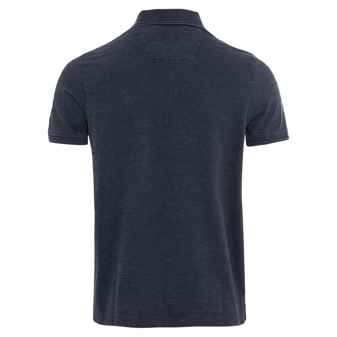 Camel active Herren Polo Shirt blau gestreift 5P11409464 49