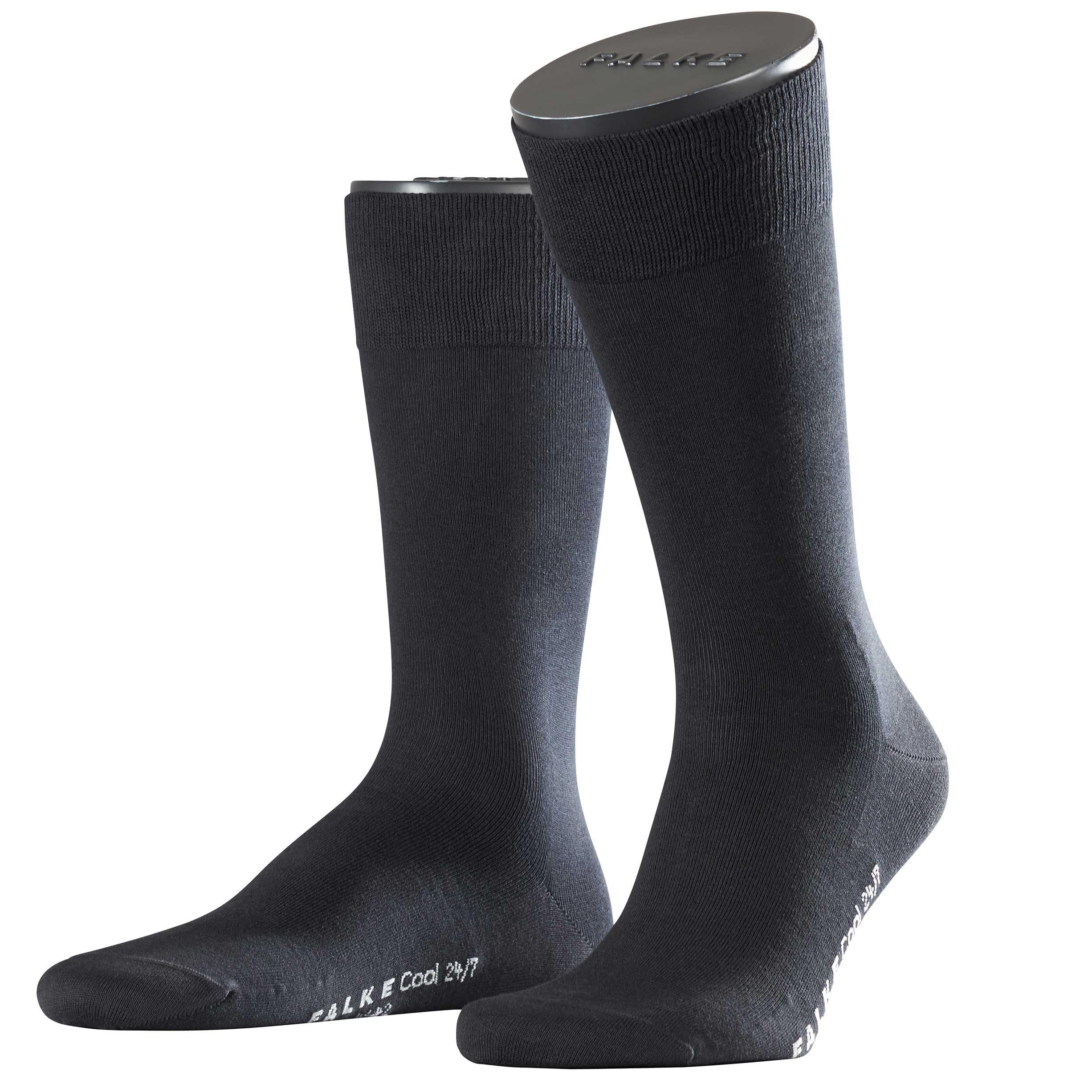 Falke Buisness Socke schwarz 13230 3000 Basic Cool 24/7 Baumwolle