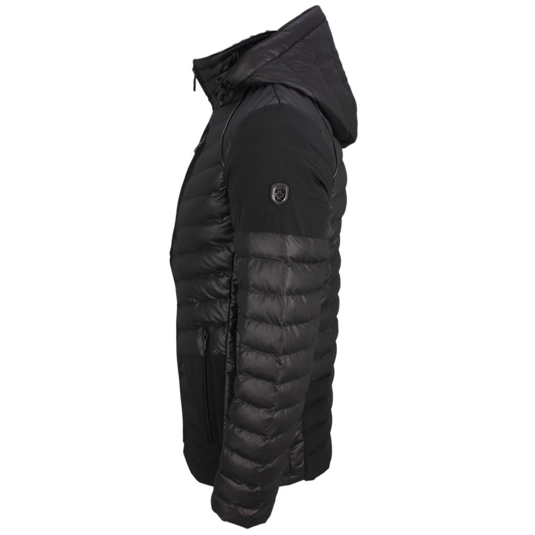 Wellensteyn Herren Winter Jacke schwarz gesteppt Revox Men REVXM 663 schwarz