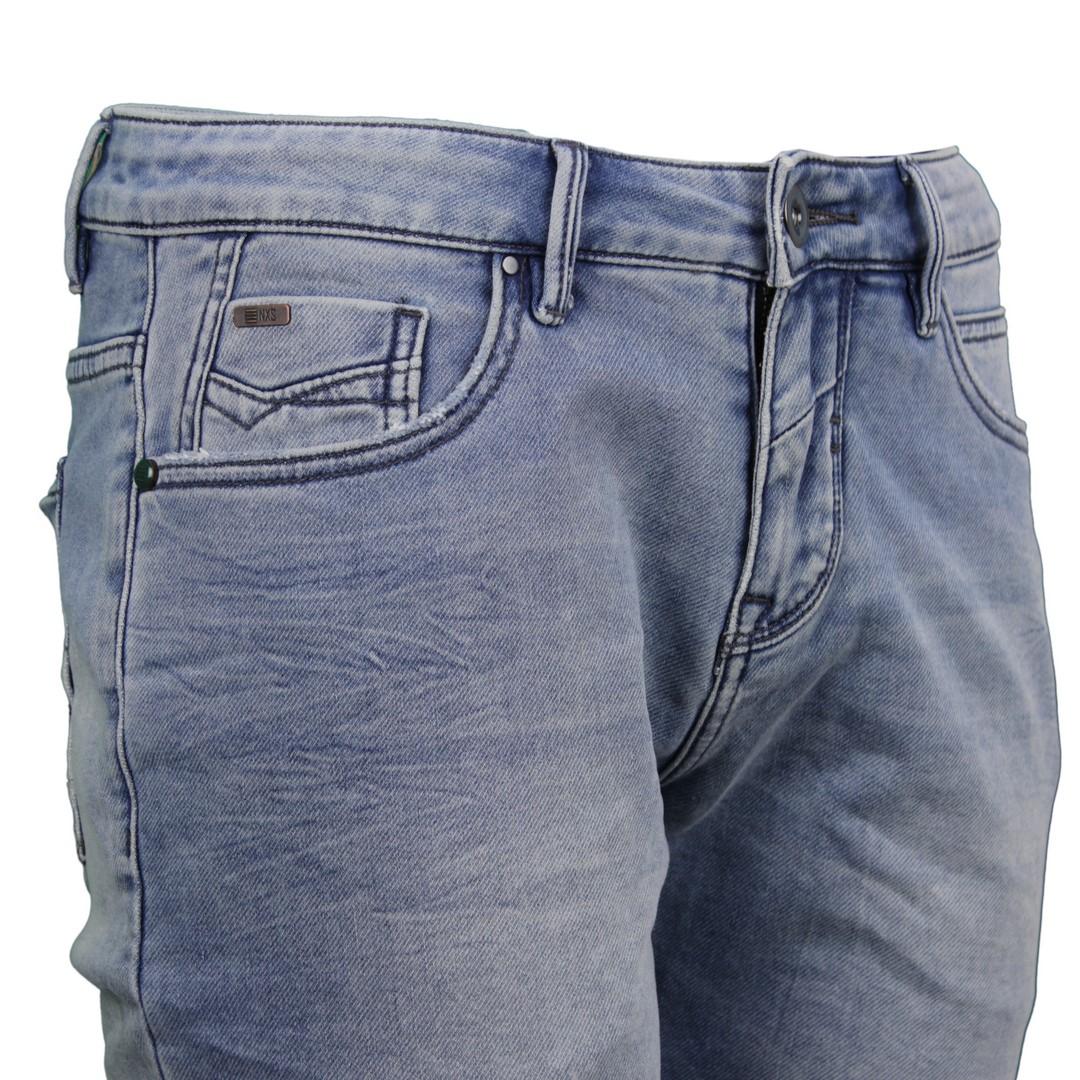 No Excess Herren Jog Jeans Short blau 958190301 229