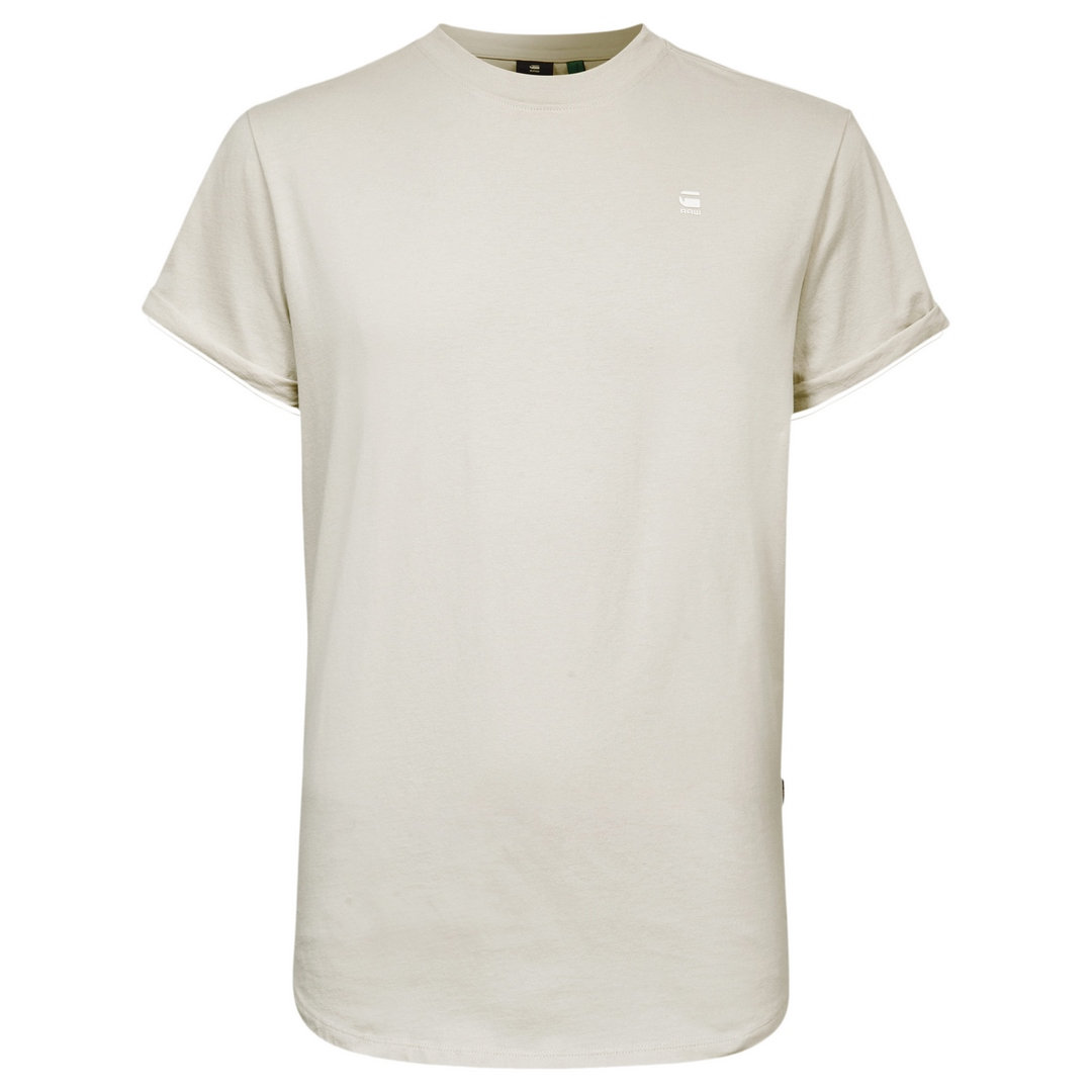 G-Star Raw Herren T-Shirt Lash Round Neck beige unifarben D16396 B353 1603