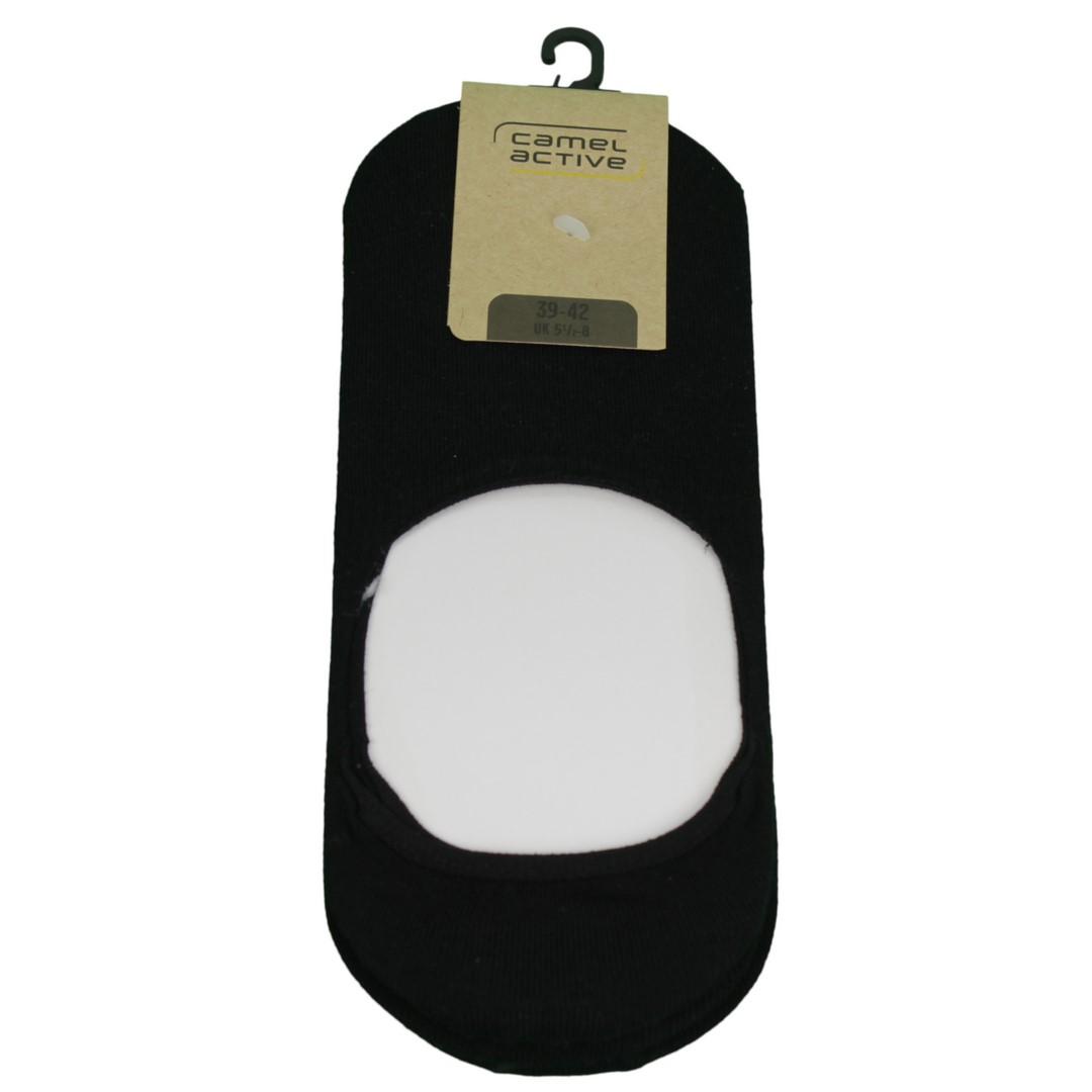 Camel active Sneaker Socken Dreier Pack schwarz unifarben 6488 610