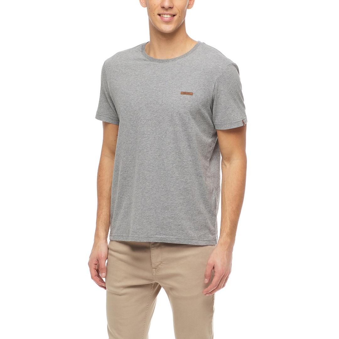 Ragwear Herren T-Shirt Shirt kurzarm Nedie vegan grau 2122 15001 3000 Grey