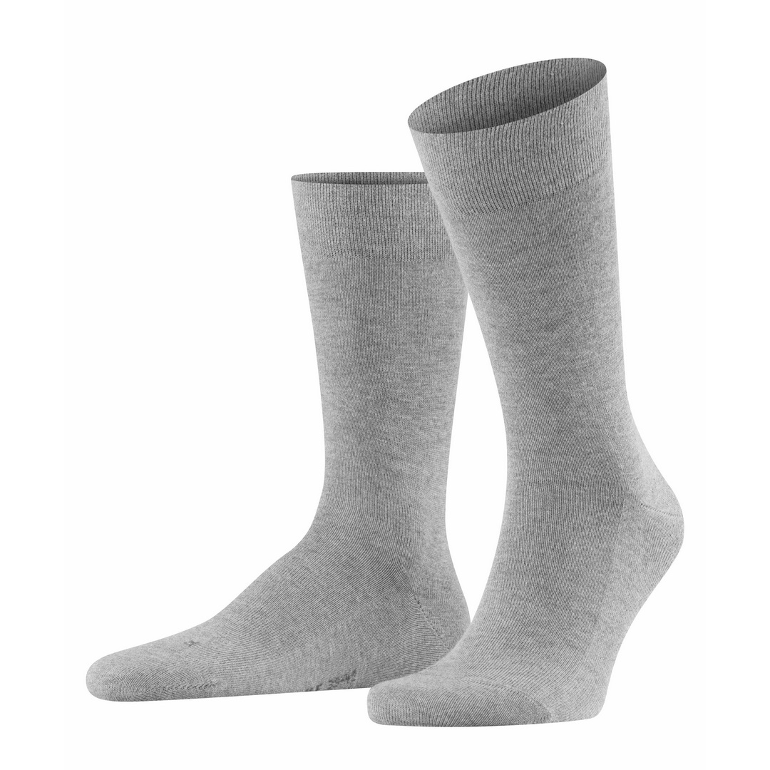 Falke Sensitive Socke London hell grau 14616  3390 Basic Baumwolle