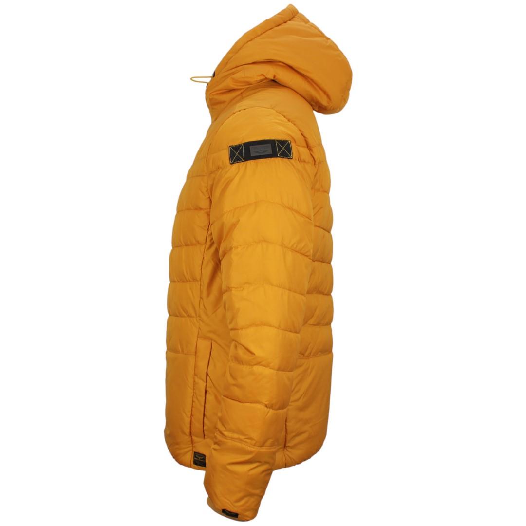 PME Legend Herren Winter Jacke Taffetar Skycontrol gelb gesteppt PJA205100 1124