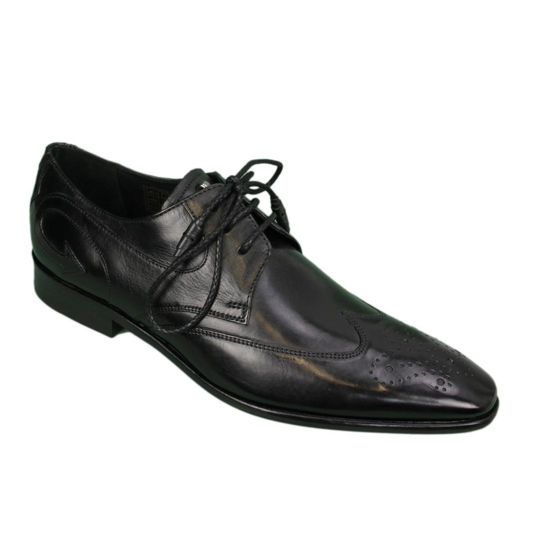 Melvin & Hamilton Herren Halbschuhe Schuhe schwarz Elvis 63 110833 black