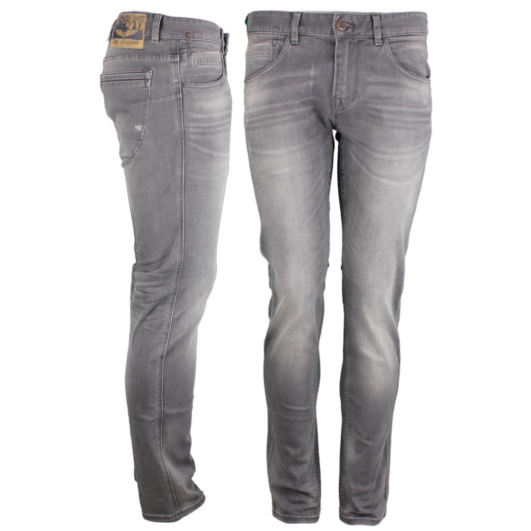 PME Legend Herren Jeans Hose Nightflight grau PTR120 TDG