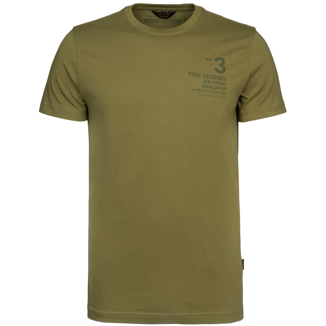 PME Legend T-Shirt Shirt kurzarm olivgrün PTSS215562 6381
