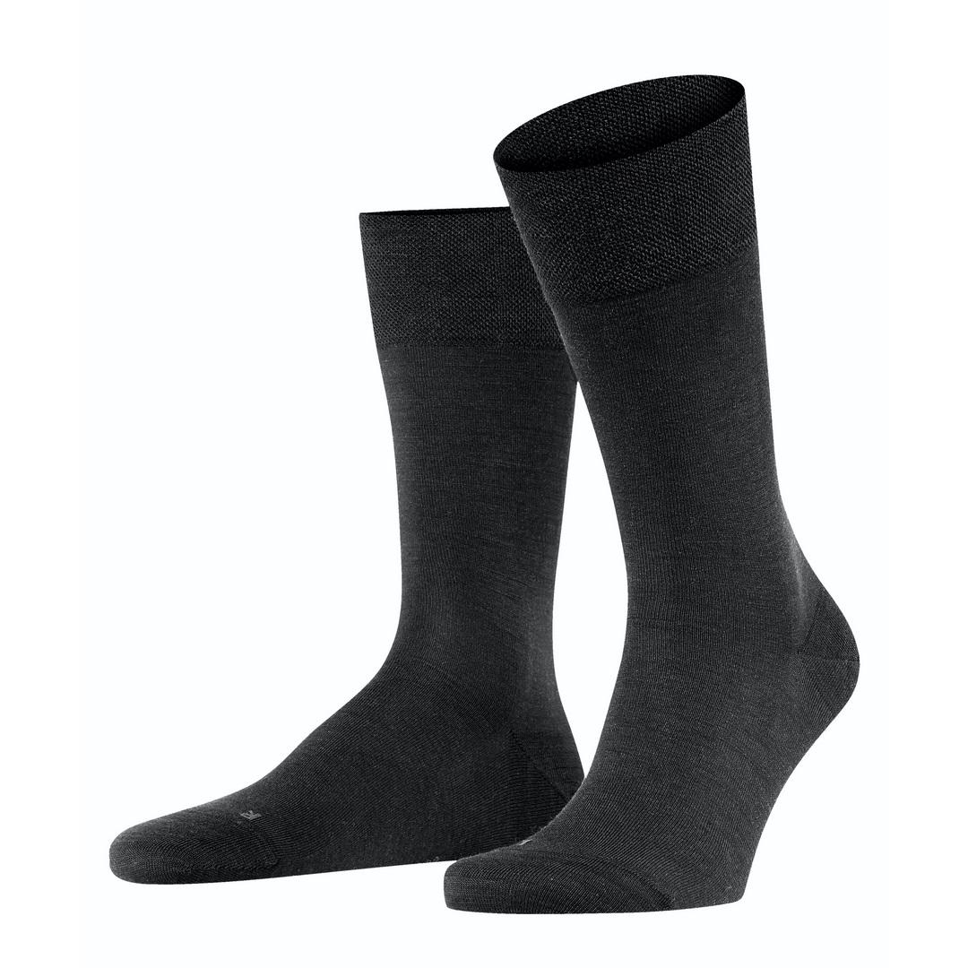 Falke Socken schwarz Sensitive Berlin 14416 3000