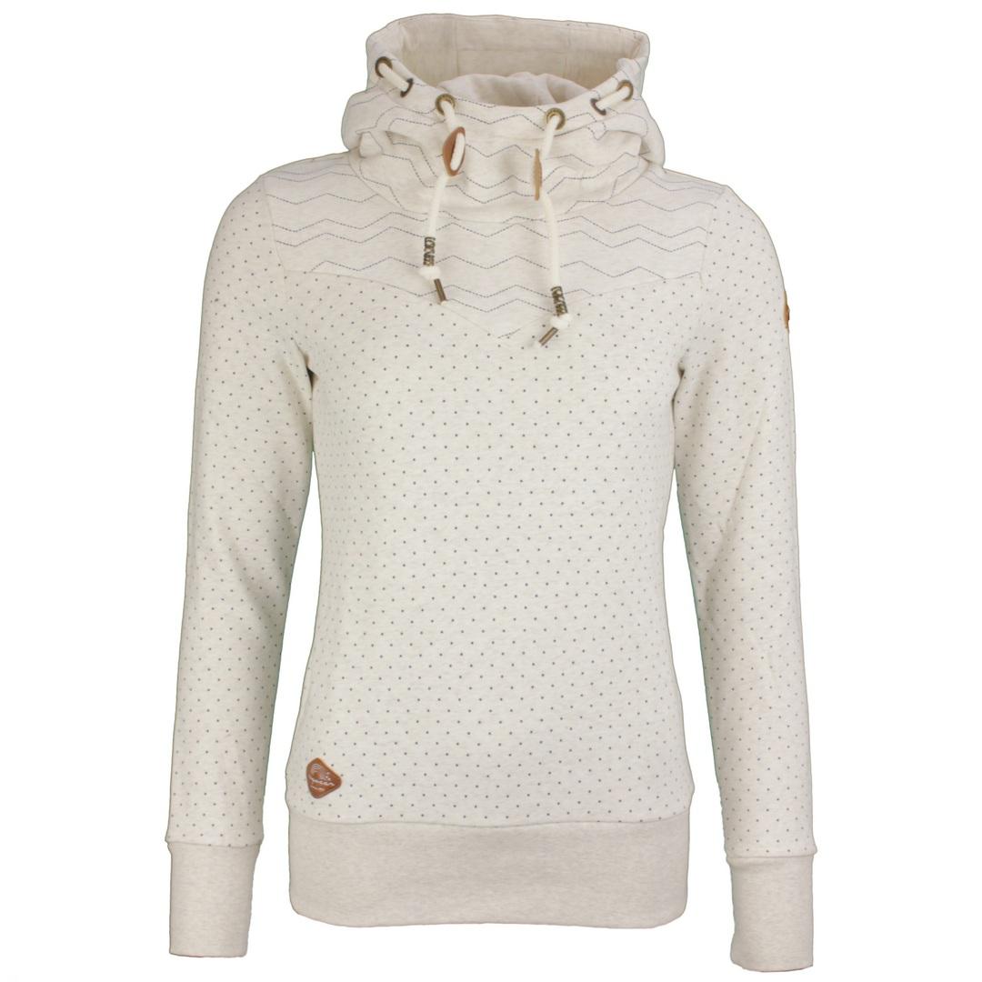 Ragwear Damen Sweat Pullover Kapuzenpullover Hoodie beige Nuggie Sweat 2121 30027 6000
