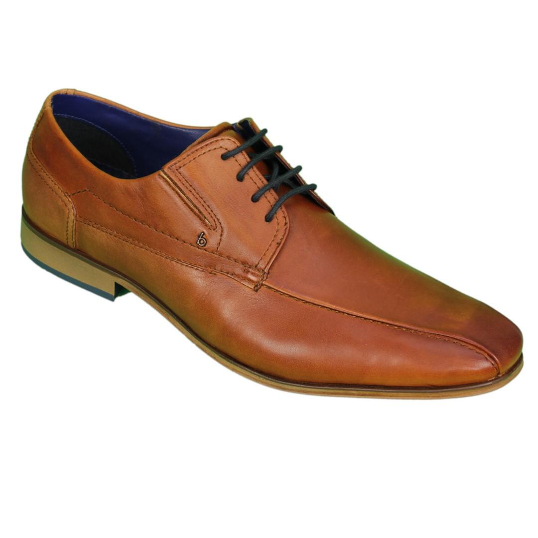 Bugatti Herren Schuhe Schnürschuhe Cognac braun 311 66604 4100 6300 cognac