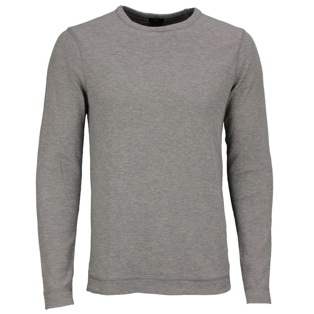 Hugo Boss Langarm Shirt Langarmshirt Strickshirt 50462773 051 Light Pastel Tempest