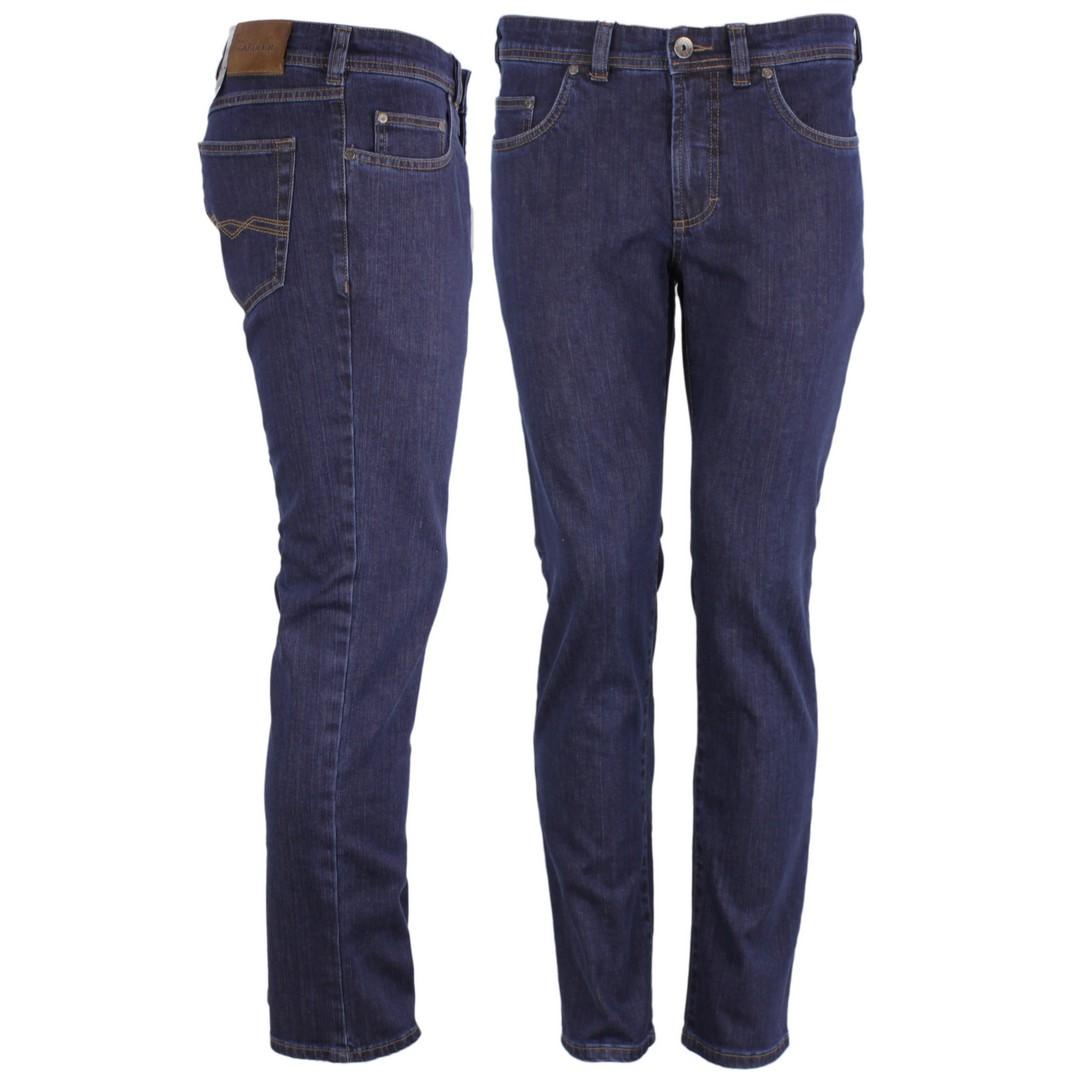 Gardeur Jeans Hose Regular Fit Indigo blau Nevio 11  470181 69