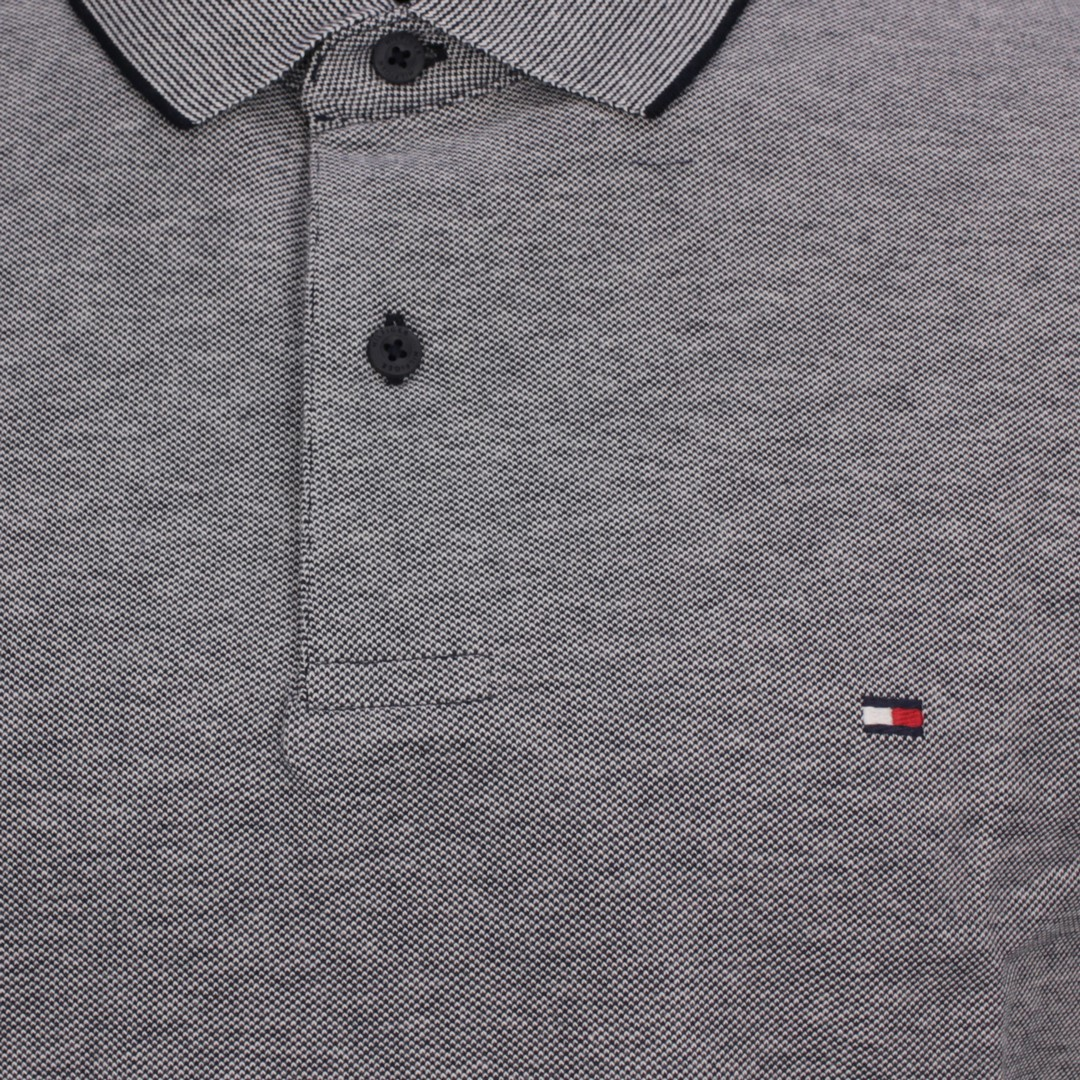 Tommy Hilfiger Herren Oxford Regular Polo Shirt blau MW0MW17781 DW5 Desert Sky