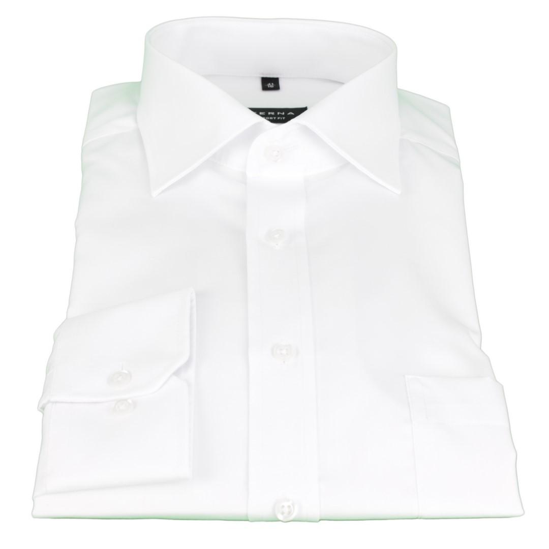 Eterna Anzug Hemd Business Comfort Fit weiß Uni 1100 00 E187