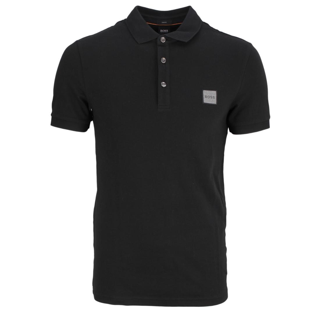Hugo Boss Herren Polo Shirt Poloshirt Passenger dunkelblau unifarben 50462781 404 Dark Blue