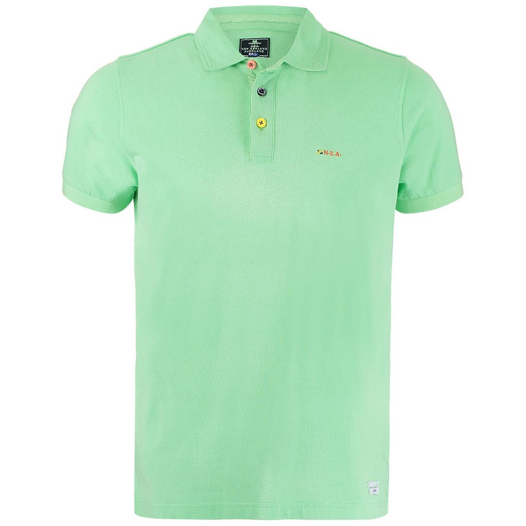 New Zealand Auckland NZA Polo Shirt grün 21CN150 505