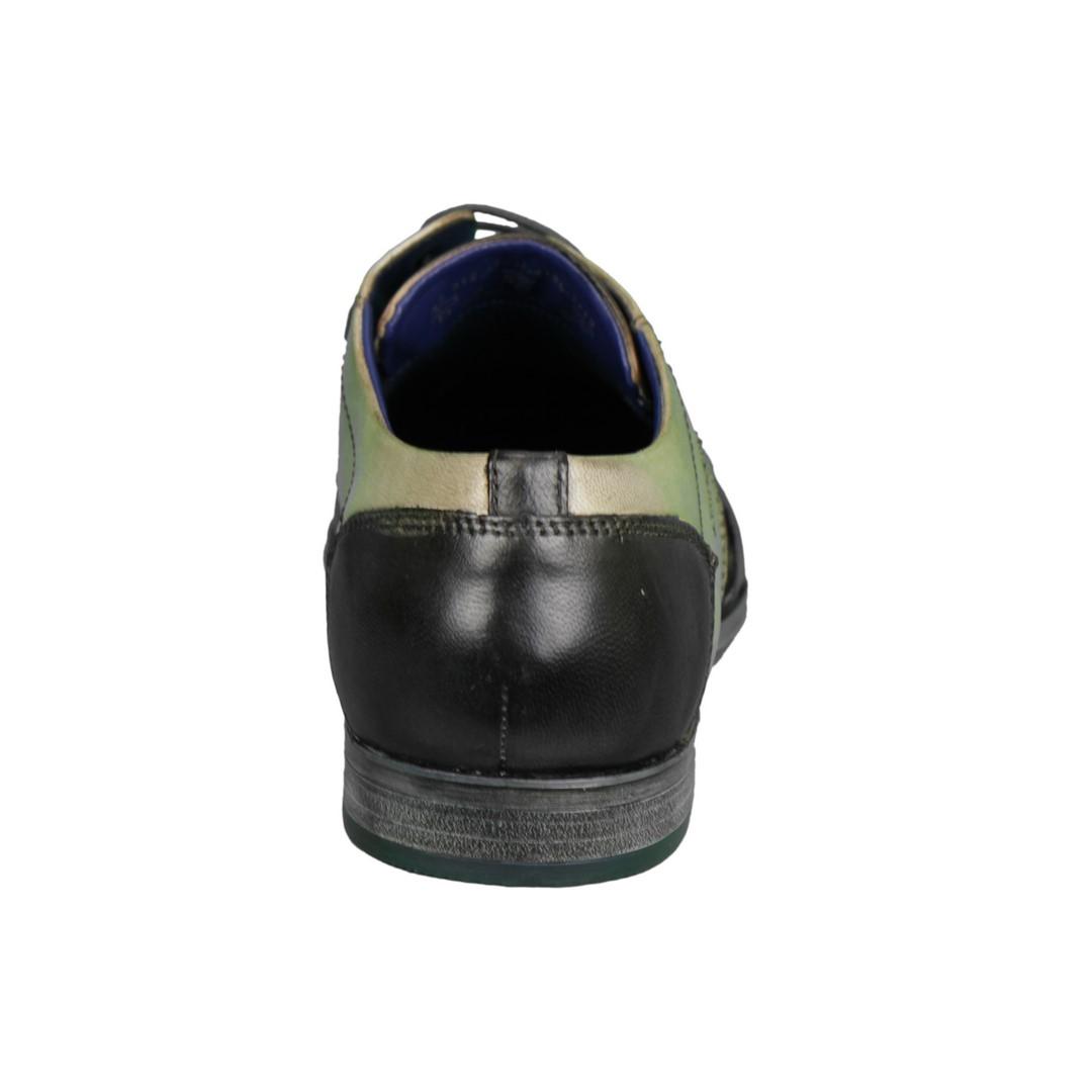 Bugatti Herren Schuhe Schnürschuhe beige braun 312 4201 4135 1112 dark grey