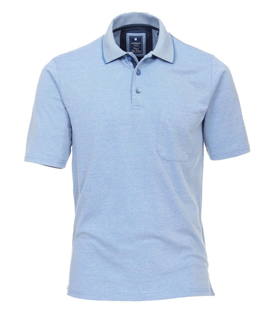 Redmond Polo Shirt Uni 912 12 Blau