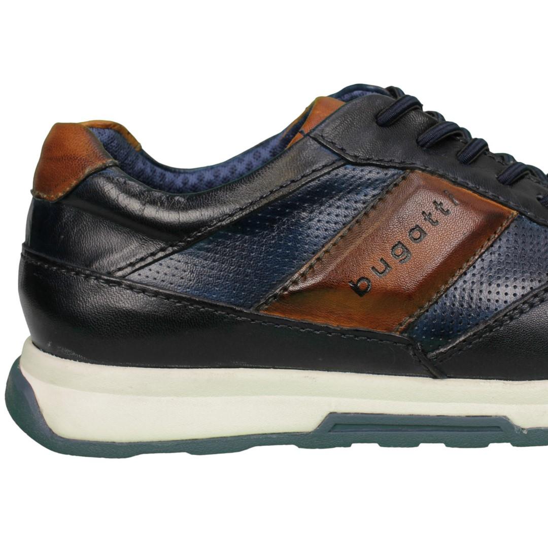 Bugatti Herren Schuhe Sneaker blau 311 A2W01 4140 dark blue