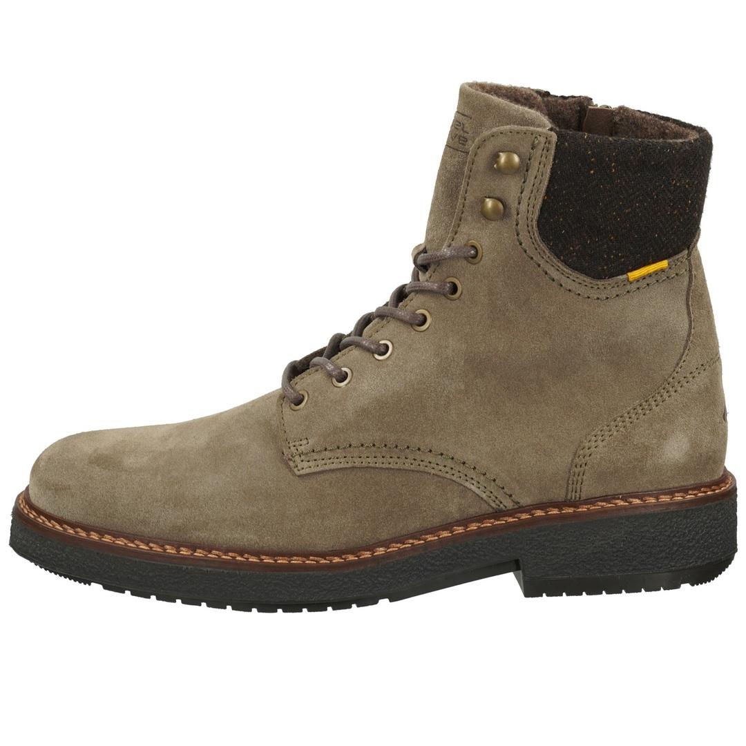Camel Active Herren Schuhe Stiefel Reißverschluss Boots grau braun  23243276 c24 taupe