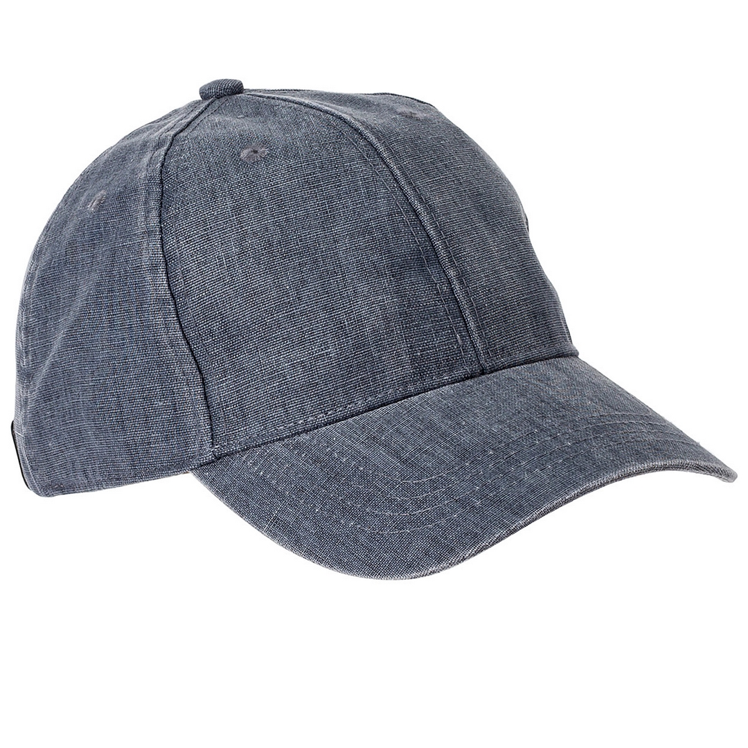 Camel active Herren Leinen Kappe Cap Mütze blau 5C26406260 46