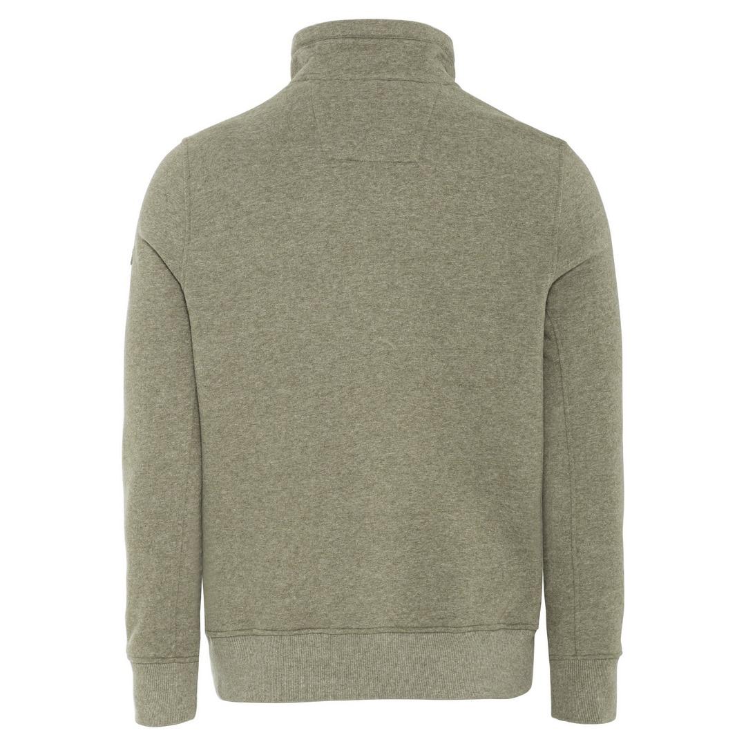 Camel active Herren Sweatshirt grün unifarben 6F14409344 93 olive brown
