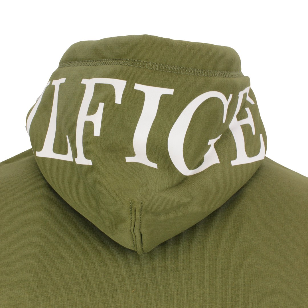 Tommy Hilfiger Sweatshirt Kapuzenpullover MW0MW21424 MS2 Putting Green Hilfiger Logo ON Hood