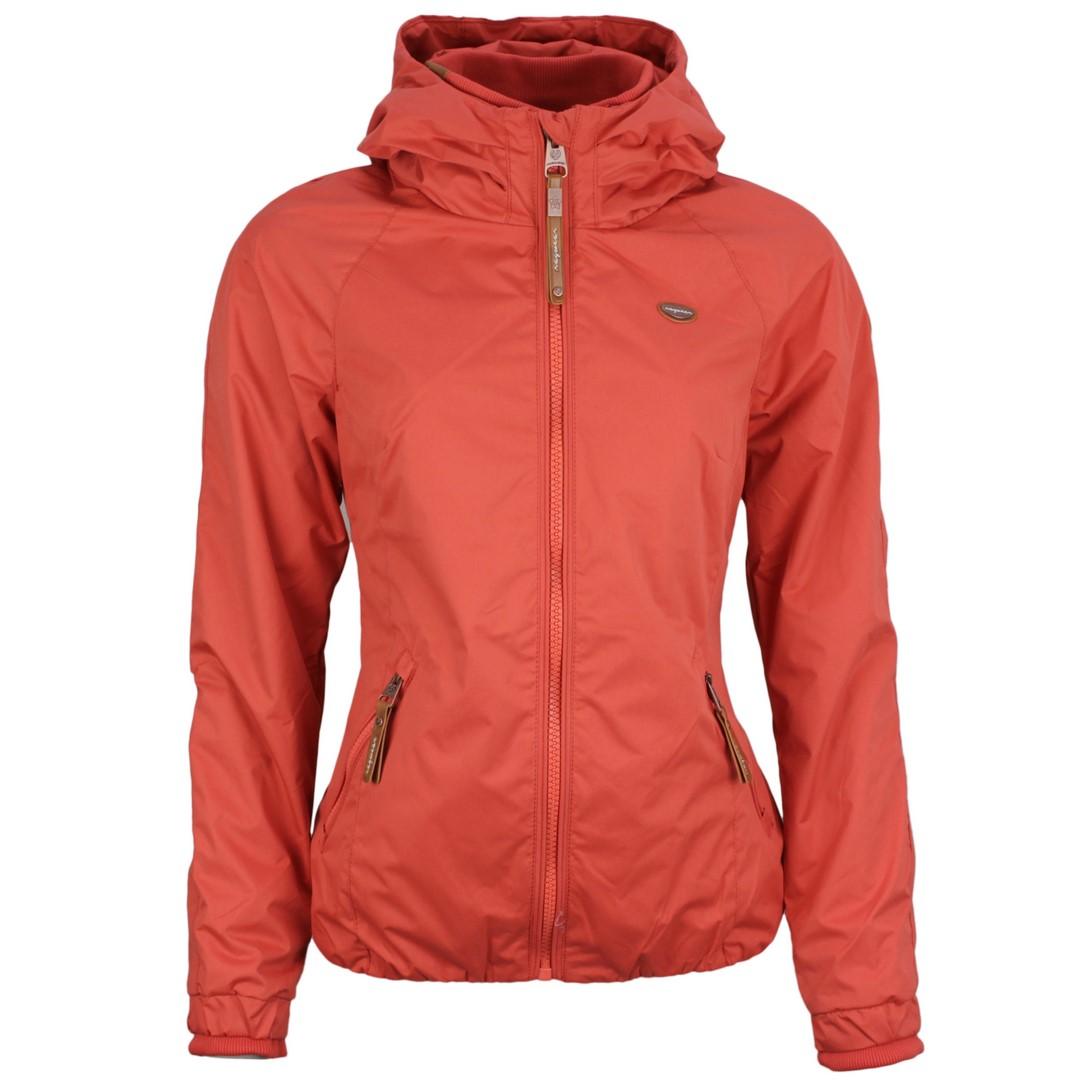 Ragwear Damen Sommer Jacke rot unifarben Dizzie 2111 60007 4045 Chilli Red