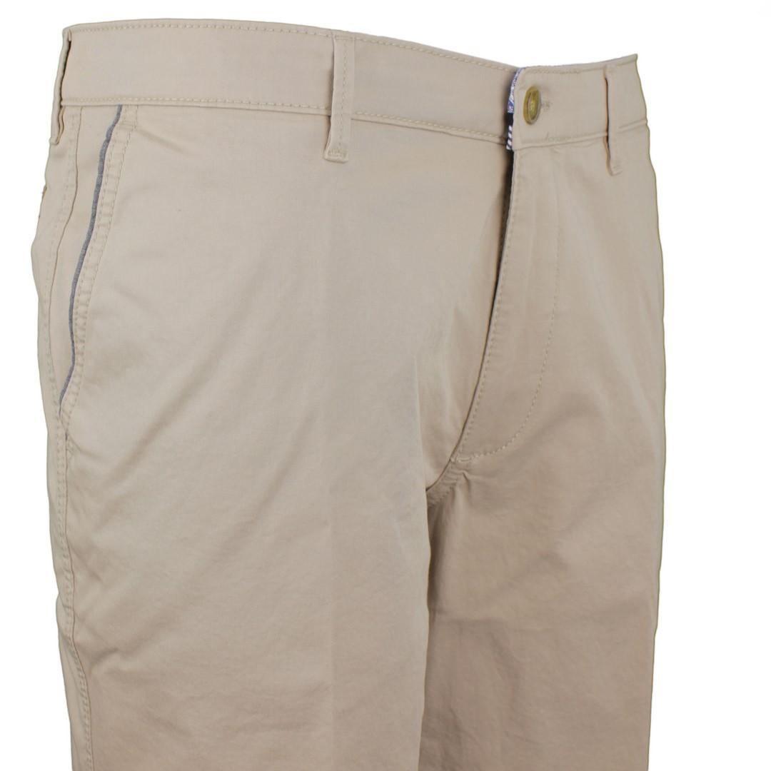 Gardeur Herren Chino Short beige unifarben JASPER-8 411541 18