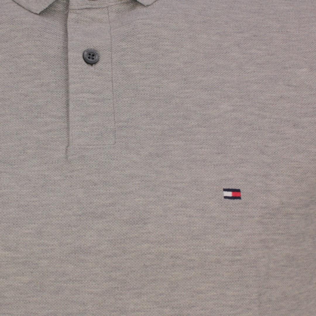 Tommy Hilfiger 1985 Regular Polo Shirt grau MW0MW17770 P91 Medium Grey Heather