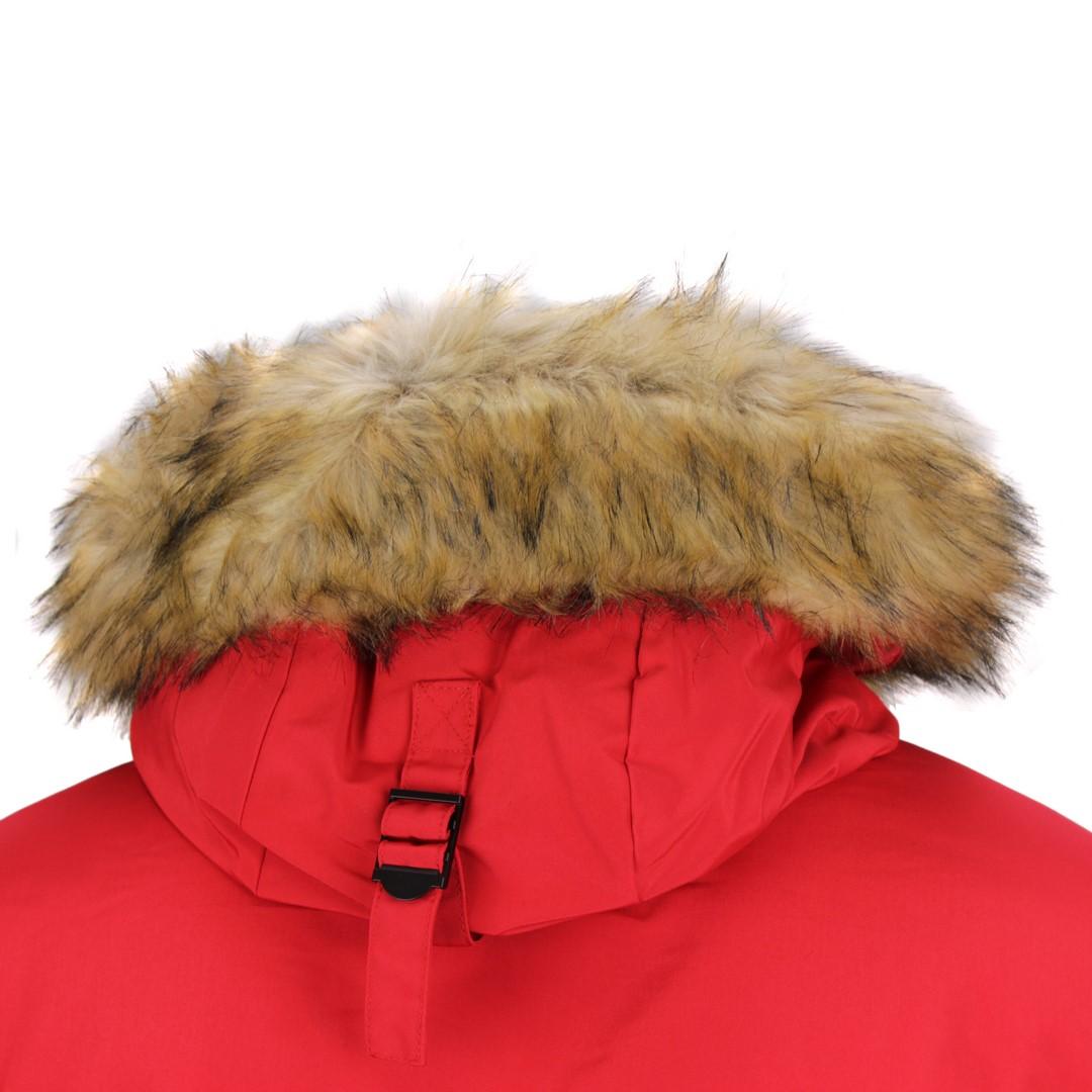 Superdry Winter Bomber Jacke Bomberjacke Everest Bomber rot M5010203A XX4 high risk red