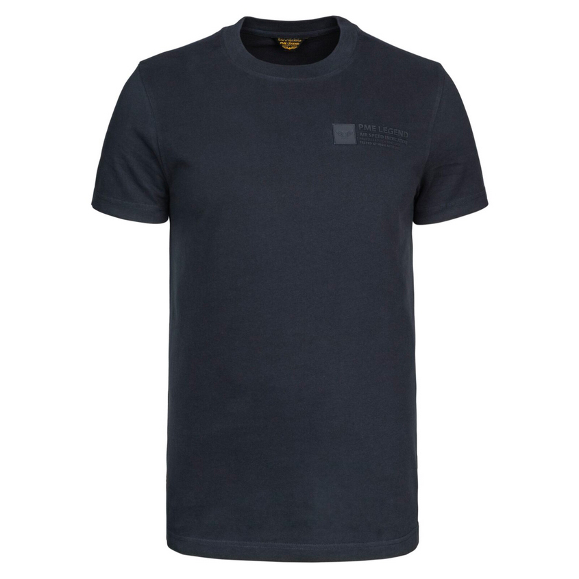 PME Legend Herren T-Shirt short sleeve peach heavy blau PTSS216571 5288 night sky